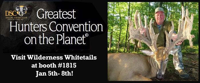 Visit Wilderness Whitetails at the Dallas Safari Club Show!