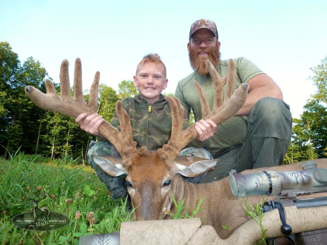 Book for early season velvet hunts!