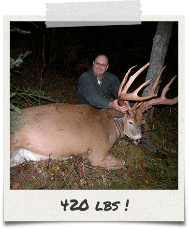 420 LBS Trophy Whitetail Buck!